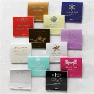 wedding favor matches personalized matchbooks wedding favor matches