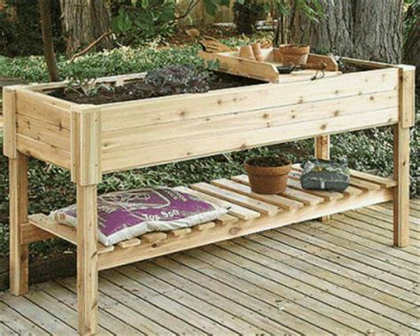 Wooden Raised Planters by Highland Raised Garden Planter 150cm