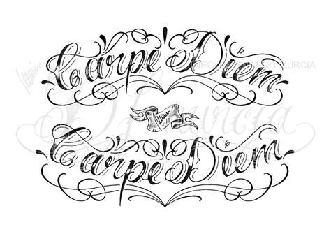 carpe diem design minimalist design carpe diem lettering by dfmurcia on deviantart