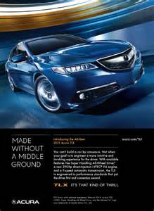 acura unveils its ad caign for the 2015
