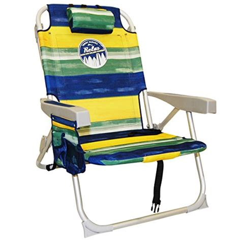 blue bahama backpack cooler chairs solid 2 bahama backpack cooler chair blueyellowgreen