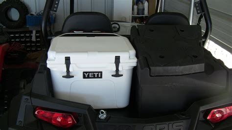 1000 Images About Cooler Ideas Yeti Cooler With Polaris Cargo Box Polaris Rzr Forum