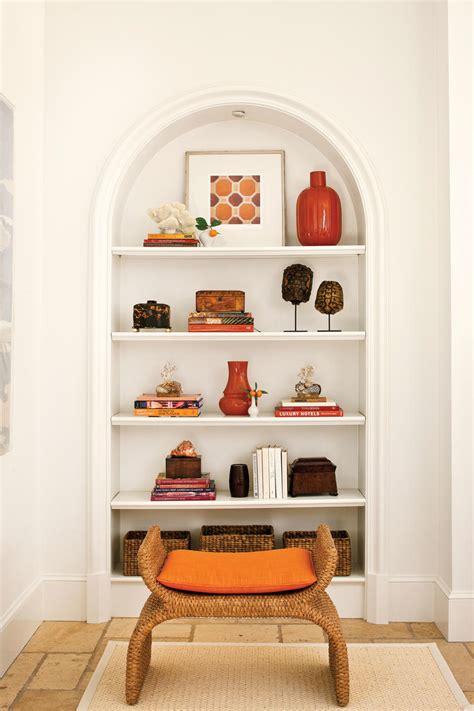 decorate shelves decorating bookshelves southern living