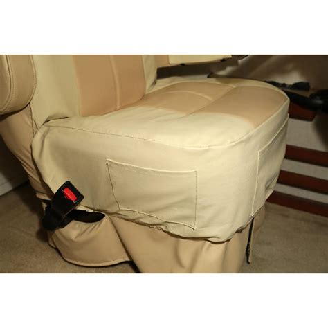 rv seat covers rv seat covers with armrest covers 2 pack rv designer