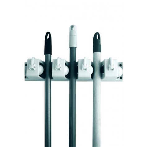 Rack For Brooms And Mops by Mop And Broom Holder