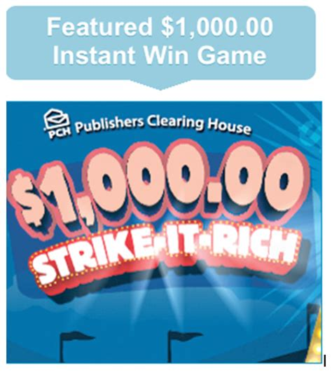 Pch Instant Win Scratch Card - pch instant win games bing images