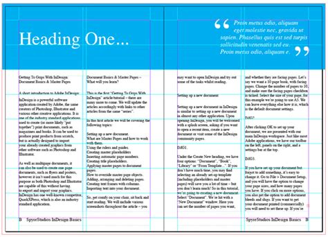 indesign online tutorial getting to grips with indesign part 1 document basics