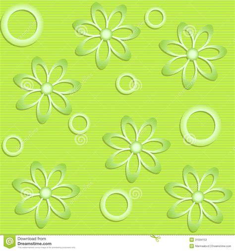 imagenes verdes para facebook flores verdes en fondo verde ilustraci 243 n del vector