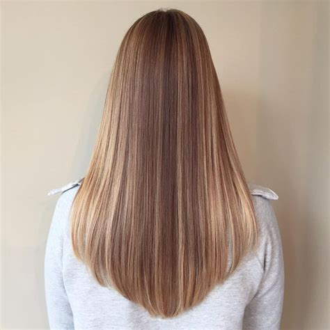 v shaped shaped v cut on thin hair femalehairadvice