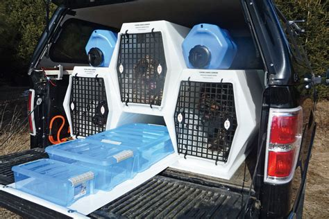 truck bed dog kennel how do you travel with your pets page 2 expedition portal