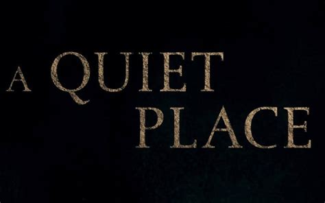 A Place 2018 The Silence Is Appropriately Unnerving In Teaser For A Place Freaksugar