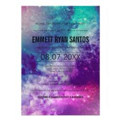 galaxy invitations amp announcements zazzle
