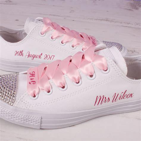 Wedding With Converse by Pink Wedding Converse Mono Wedding Converse