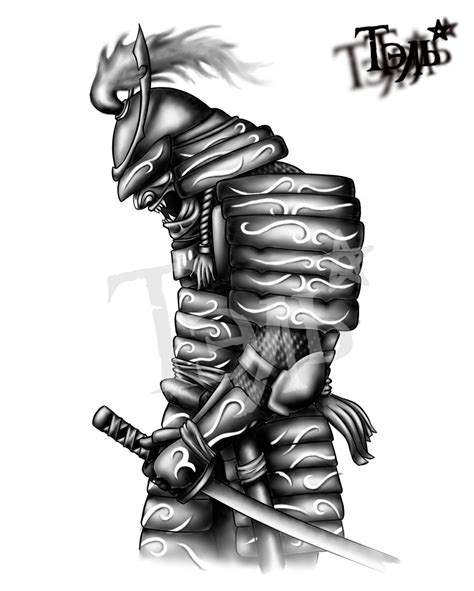 samurai tattoo decor by taldark on deviantart