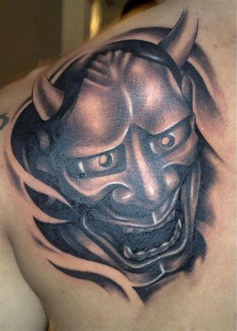 tattoo eye mask 20 eye catching oni mask tattoo designs