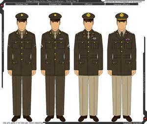 wwii u s army class a uniform by grand lobster king on