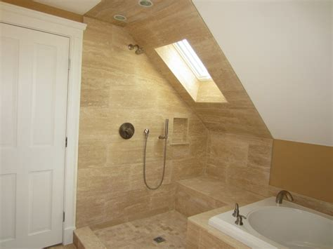 adding bathroom to attic attic addition master suite traditional bathroom boston by christopher barry