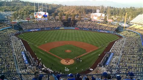 dodger stadium top deck  rateyourseatscom