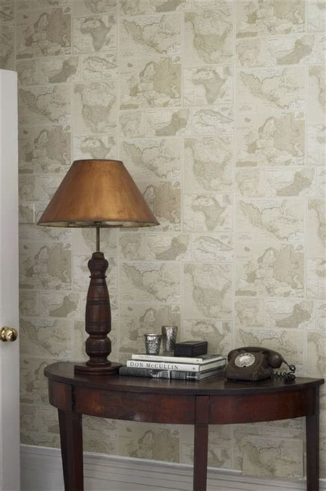 Hallway wallpaper ideas Traditional Hallway & Landing Sussex by Wallpaperdirect UK