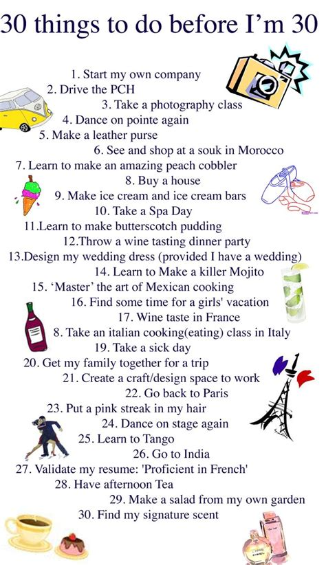 1000 images about 30 things to do before 30 on pinterest