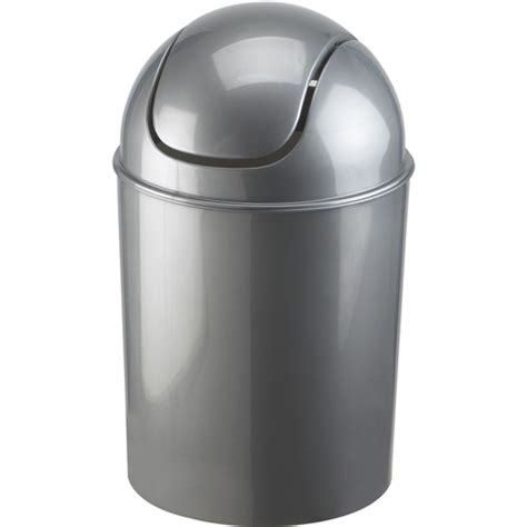 swing trash can mini swing top trash can grey in small trash cans