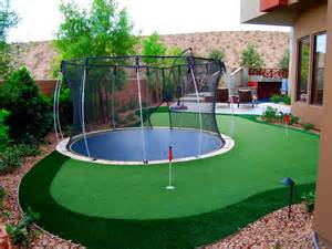 outdoor putting green images