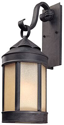 andersen door 24 inch glass s forge 24 quot exterior wall sconce in aged iron