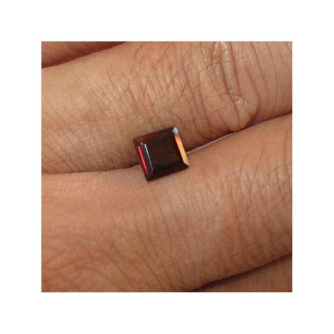 Batu Garnet Merah Kotak permata garnet merah bentuk kotak 1 25 carat harga murah