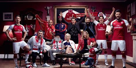arsenal photography arsenal 17 18 home kit released footy headlines