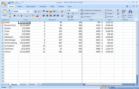 Tutorial To Excel 2007 | getcasino blog