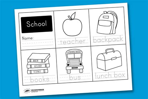Worksheet Wednesday School Handwriting Paging Supermom School Worksheet Printables