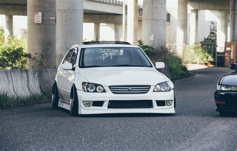 toyota altezza wallpaper wallpaper as200 is300 height white xe10 front
