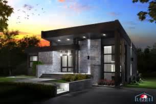 Minimalist House Plan House designer zen amp contemporary lap0508 maison laprise