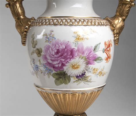 Meissen Vases by Pr Of Early 20th C Meissen Snake Handle Vases Fitted As Ls From Piatik On Ruby