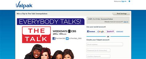 The Talk Com Sweepstakes - sweepstakes press part 46