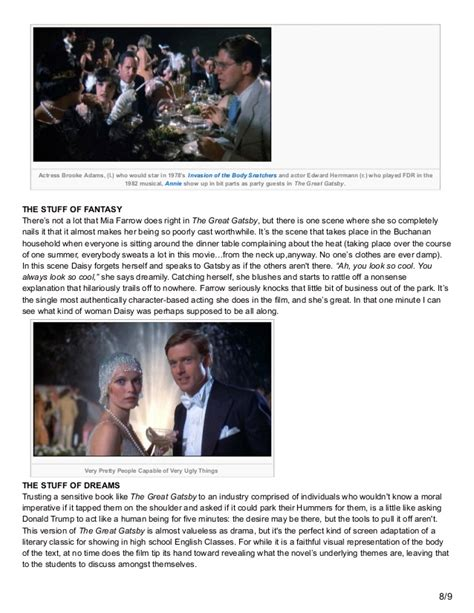 the great gatsby or maybe almost great brian overland le cinema dreams film review the great gatsby 1974