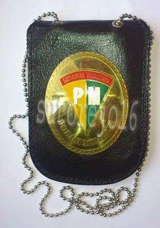 Kalung Kalung Rantai Logo Perbakin atribut dan aksesoris tni polri kalung pengenal kta tni polri