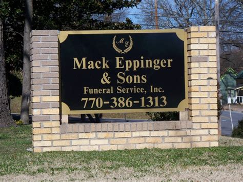 mack eppinger sons funeral service inc cartersville