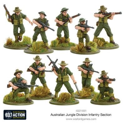 infantry section the bolt action australian army goes jungle fighting