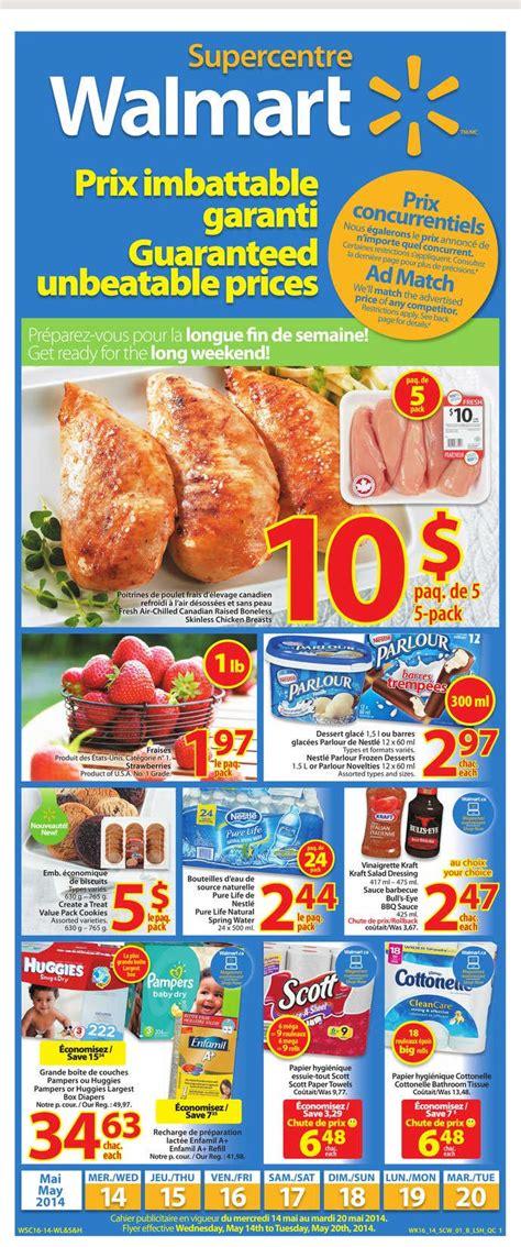 walmart canada grocery flyer qc     canada
