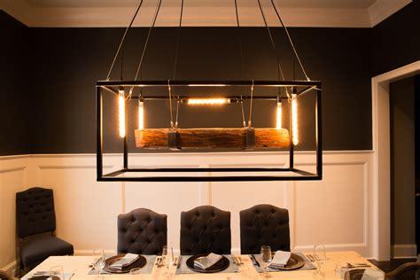 Buy Hand Crafted Wood Beam Large Chandelier Framed Light