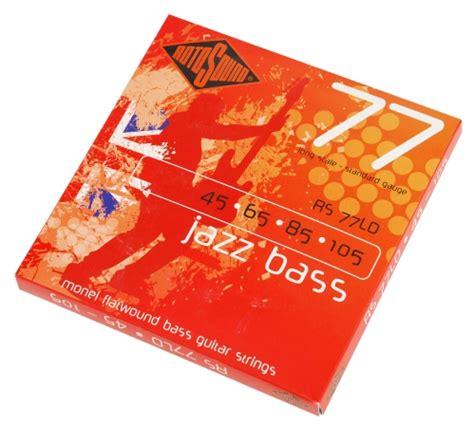Rotosound String Bass 45105 Rs66ld rotosound rs 77ld jazz bass struny 45 105