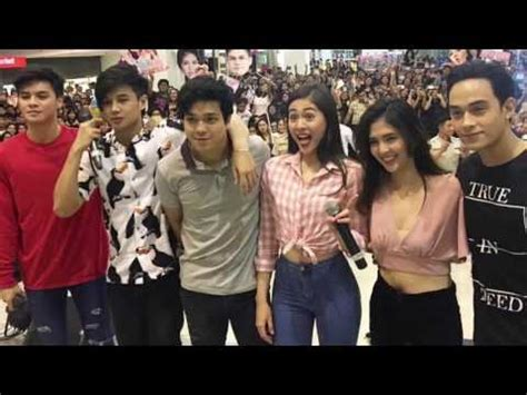 cast of my bloody bloody crayons cast at starmall alabang kulitan backstage