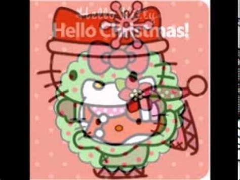 imagenes de uñas de hello kitty mi hello kitty les desea una feliz navidad youtube