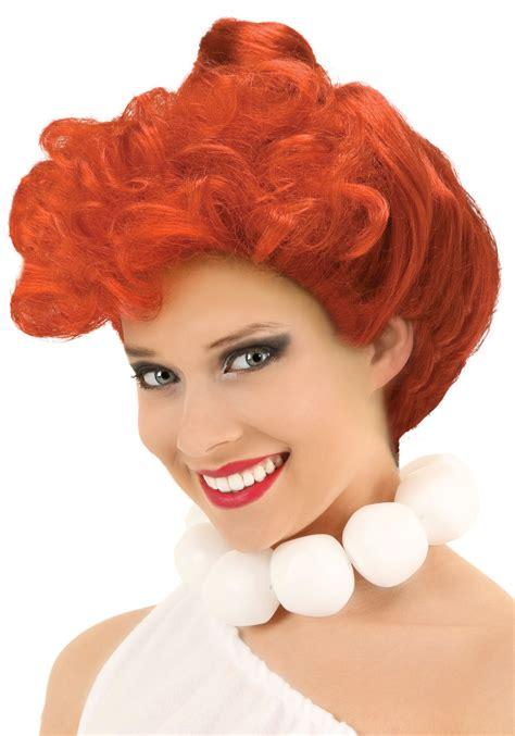 wilma hairstyle wilma flintstone wig halloween costume accessories