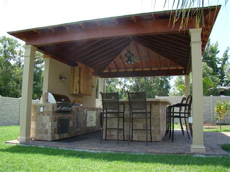 Metal Awnings New Orleans New Orleans Outdoor Kitchens Contractor Custom Outdoor