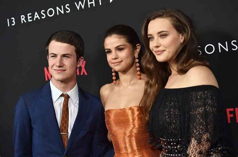 selena gomez and 13 reasons why cast got matching