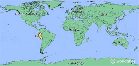 where is lima peru located on a world map where is peru where is peru located in the world