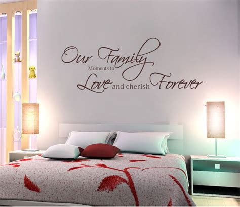 writing wall stickers fashion our family moments forever removable vinyl wall word sticker drawing room wall