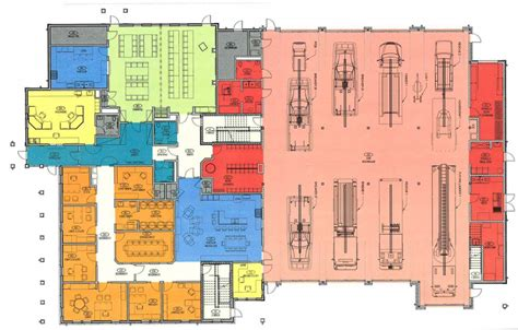 fire department floor plans fire station floor plans carver fire department